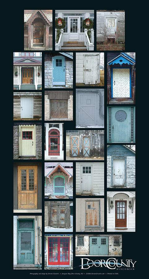 Doors Photograph - Doors Of Door County Poster by Tim Nyberg
