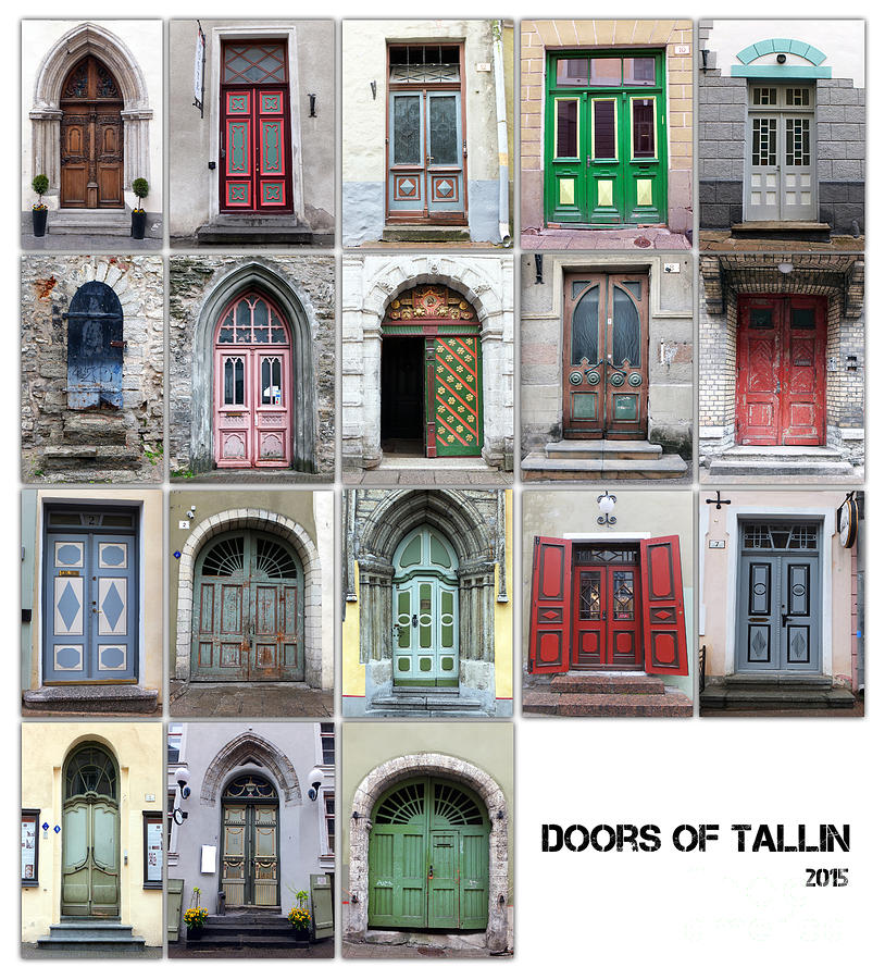 Doors Of Tallinn Photograph