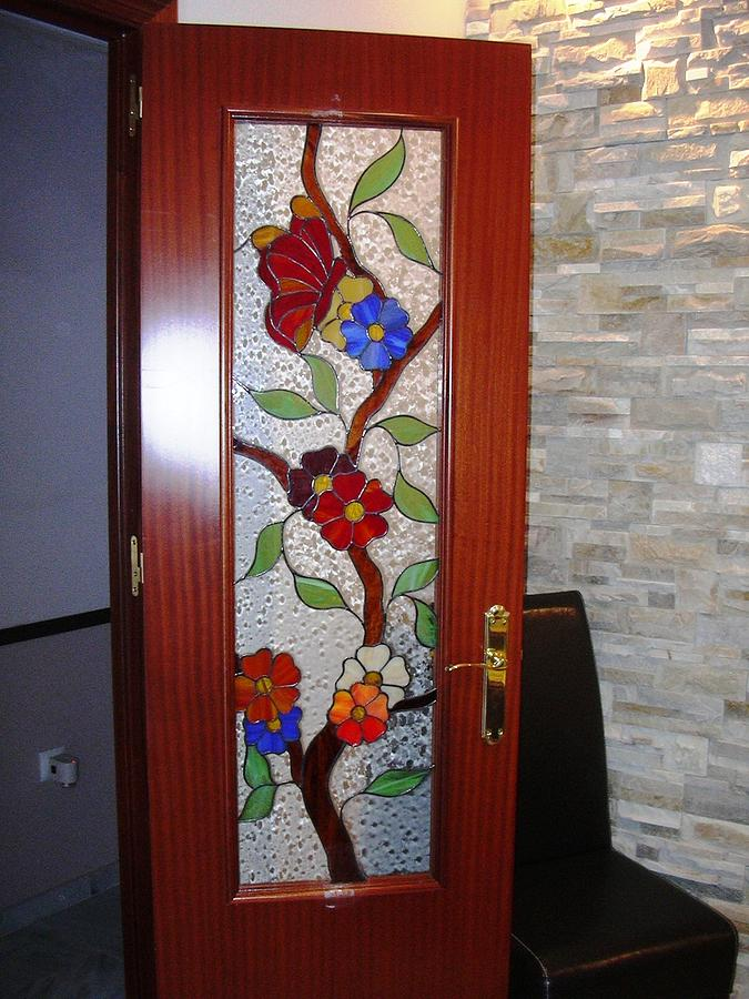 Doors Glass Art - Doors Of The Paradise 1  by Justyna Pastuszka