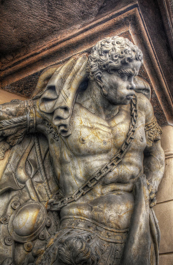 Doorway Guardian Mala Strana by Michael Kirk