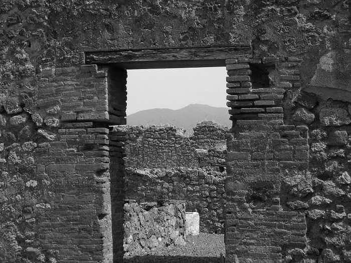 Pompeii Photograph - Doorway by James Hakun