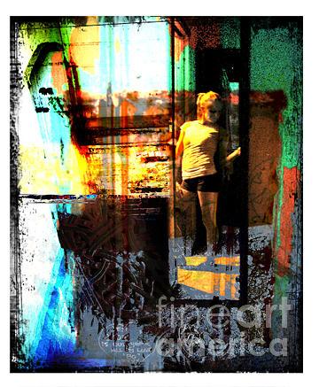 Surrealism Digital Art - Doorway by Marti Wedewer