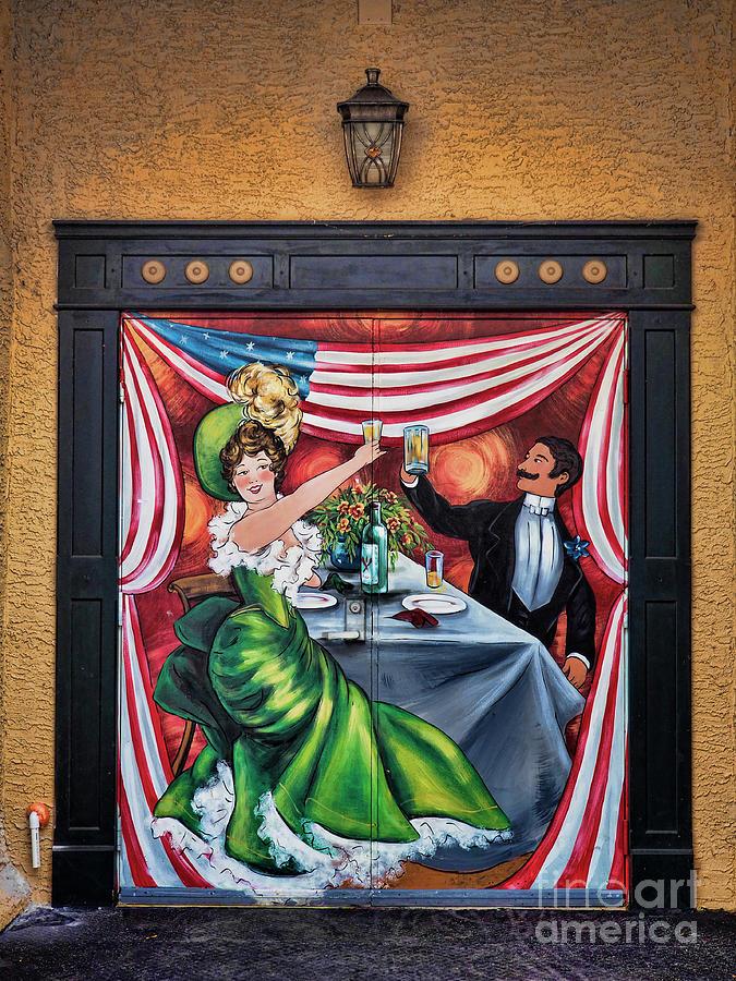 Doorway Mural Photograph by Richard Patrick