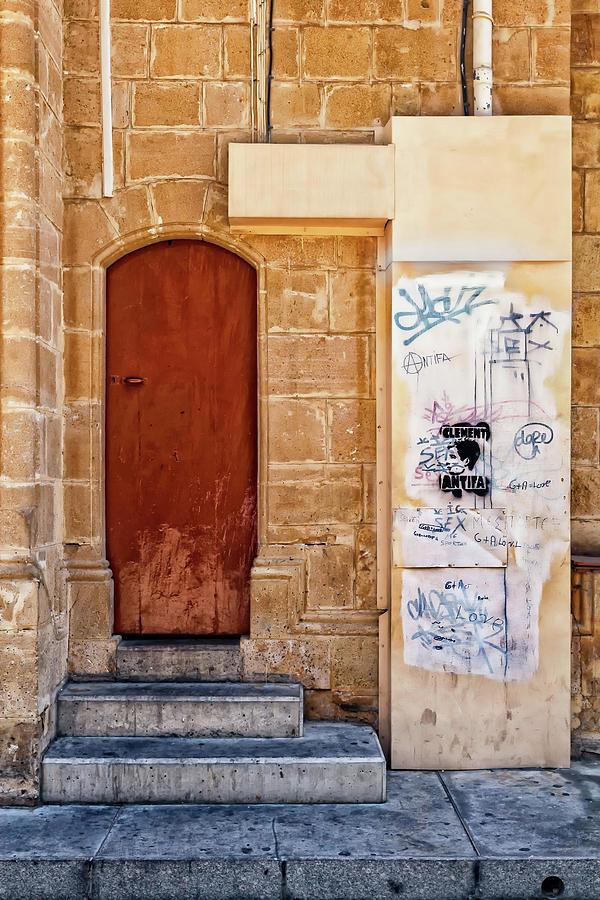 Doorway to Nicosia by Makk Black
