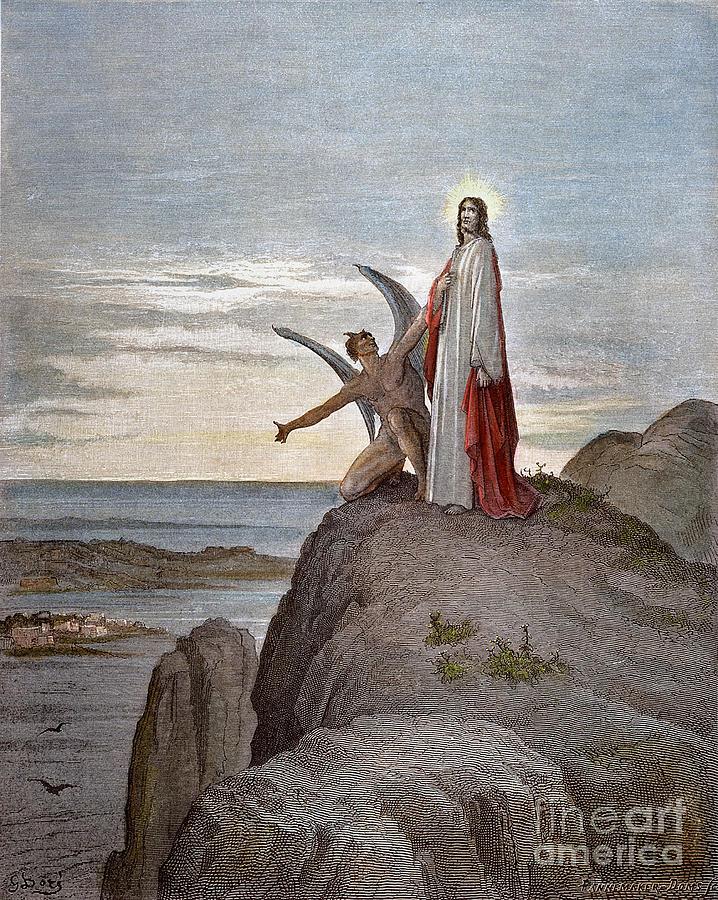 Dor Temptation Of Jesus Photograph By Granger