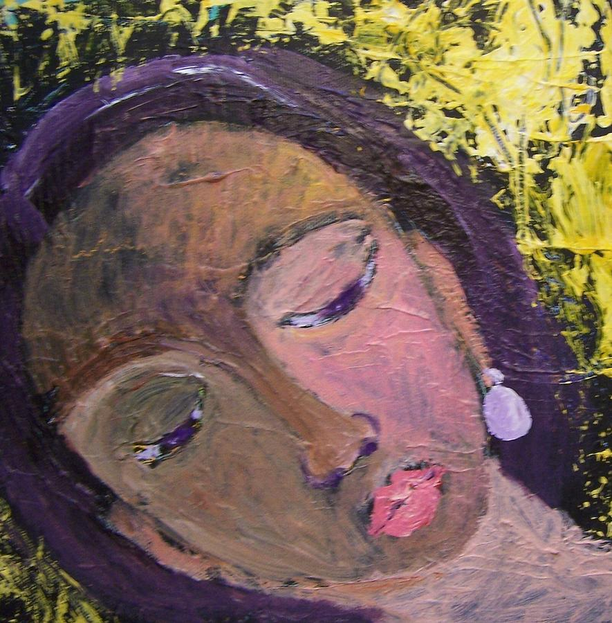 Portrait Painting - Dora by Geraldine Liquidano