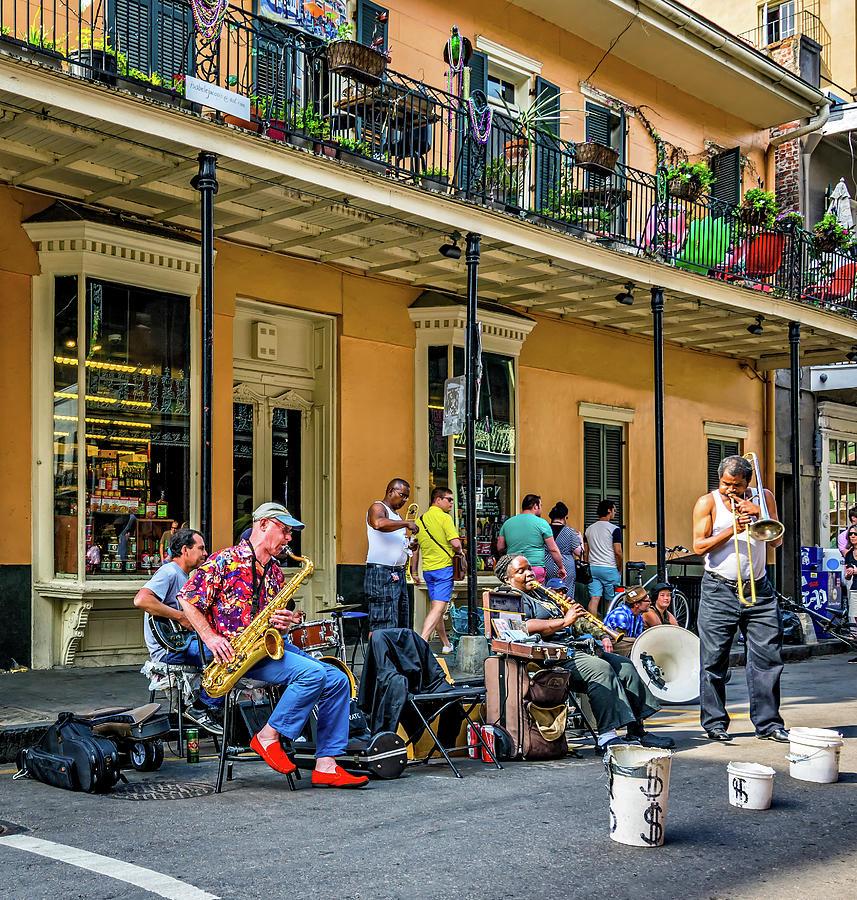 French Quarter Photograph - Doreens Jazz New Orleans 2 by Steve Harrington