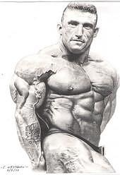 Portraits Drawing - Dorian Yates by Cliff Washburn