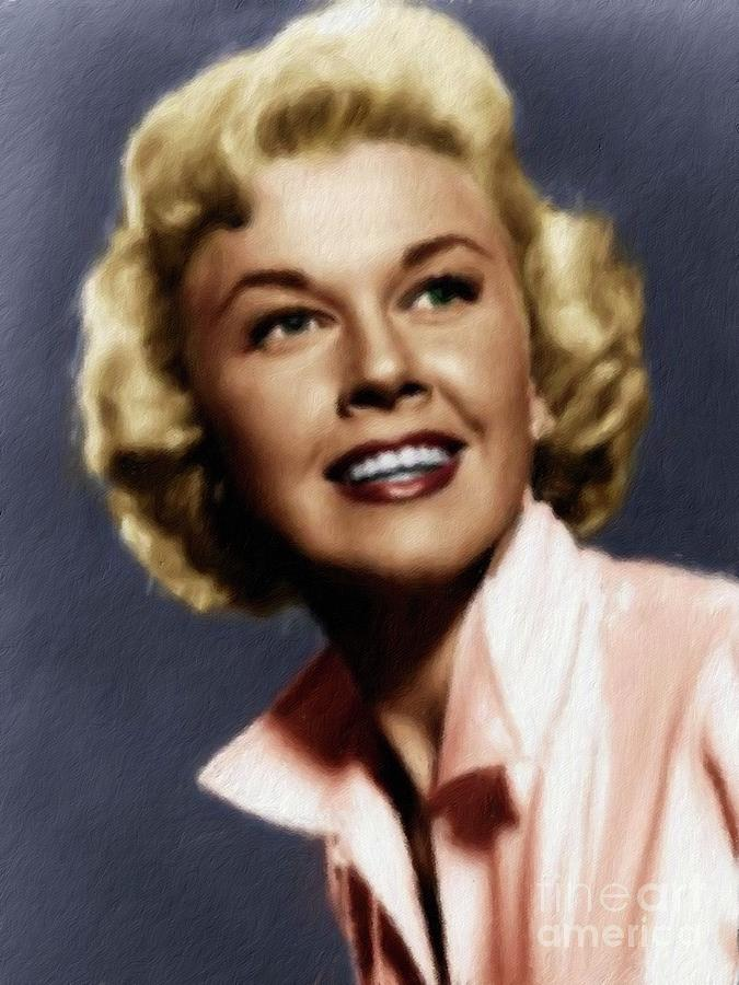 Doris Day, Actress Painting