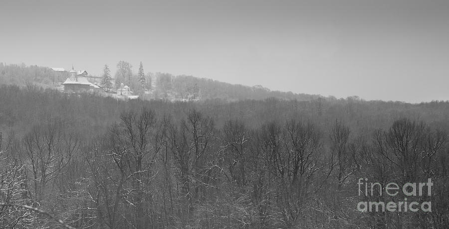Winter Photograph - Dormant Religion by Gabriela Insuratelu
