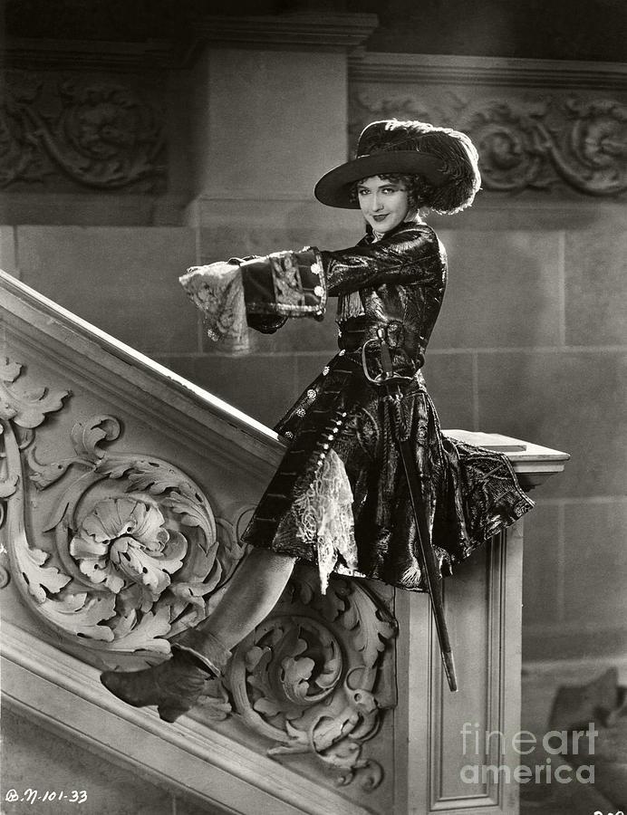 Nell Gwyn Photograph - Dorothy Gish 1926 by Sad Hill - Bizarre Los Angeles Archive