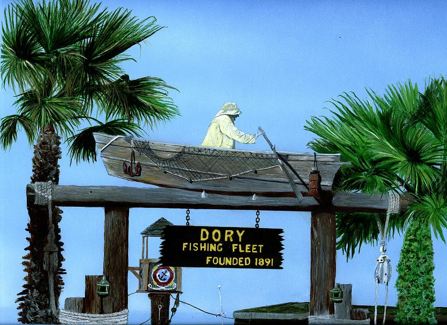 Fishing Fleet Painting - Dory Fleet by Charles Parks