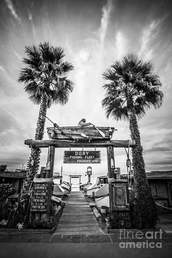 America Photograph - Dory Fleet Market Newport Beach Photo by Paul Velgos