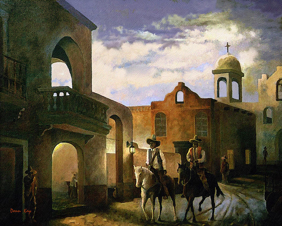 Dos Amigos Painting by Donn Kay
