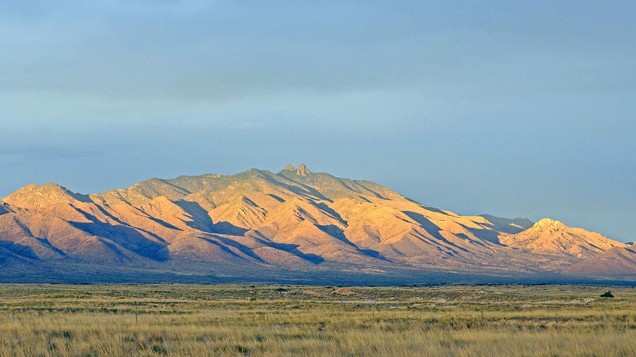 Landscape Photograph - Dos Cabezas by Brent Hall