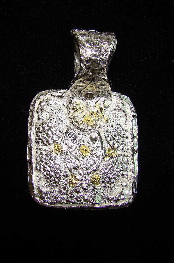 Silver Jewelry - Dotted Etruscan by Kimberly Clark - Dragonfly Studios