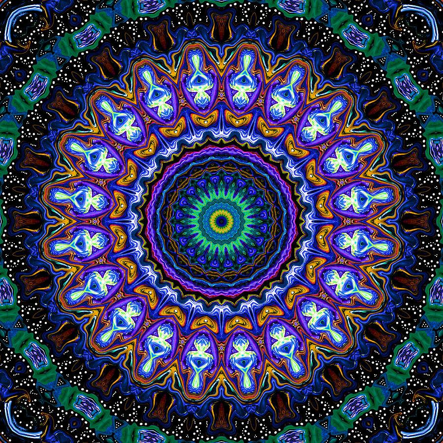Dotted Wishes No 7 Kaleidoscope Digital Art By Joy Mckenzie