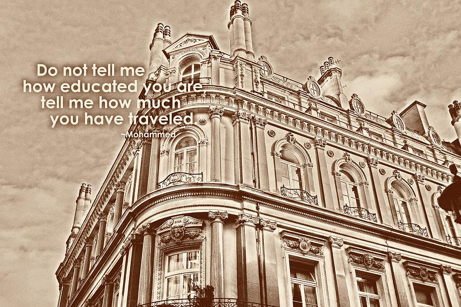 London Photograph - Double Decker View Quote by JAMART Photography