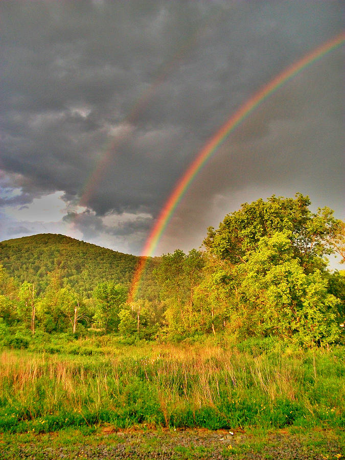 Rainbow Photograph - Double Double by Emily Stauring