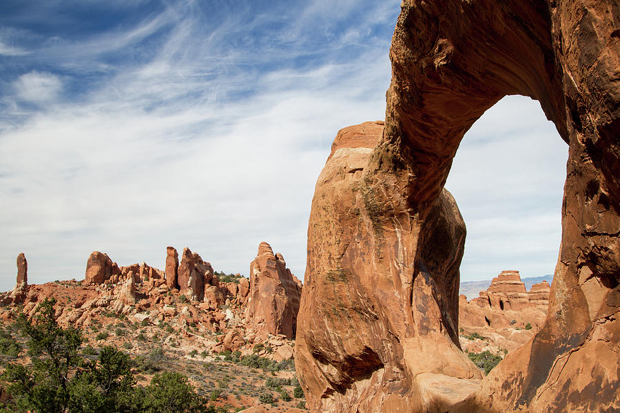 Arches National Park Photograph - Double O Arch // Arches National Park, Utah by Kirsten Dale