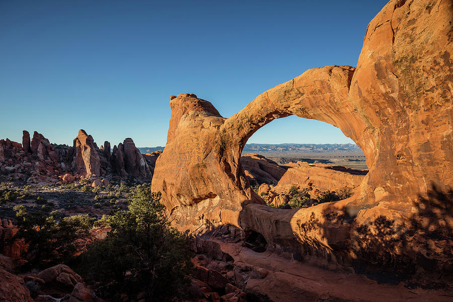 Double O Arch by Whit Richardson
