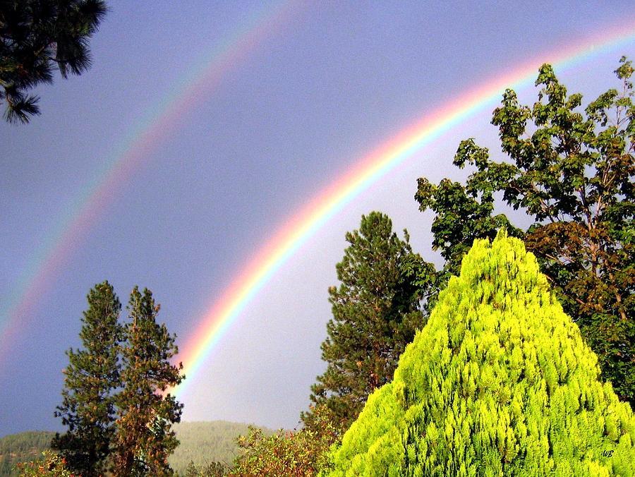 Double Rainbow Photograph