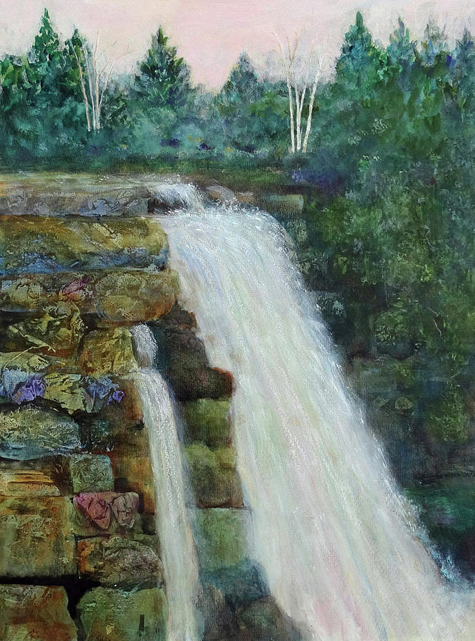Double Waterfall by Kay Fuller