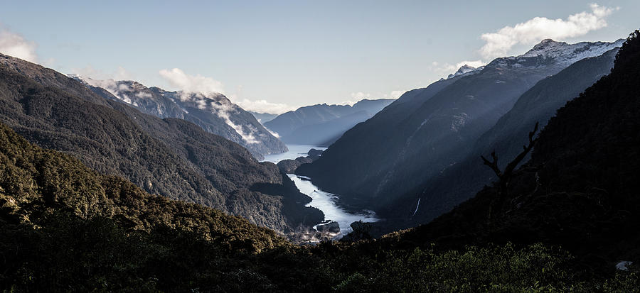 Doubtful Sound Photograph - Doubtful Sound by Jeff Pfaller