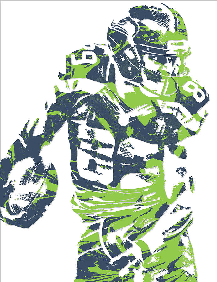 half off 19211 77369 Doug Baldwin Seattle Seahawks Pixel Art 5