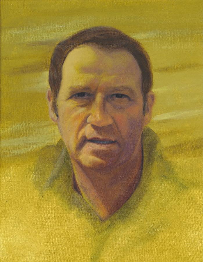 Portrait Painting - Doug by Laurel Ellis