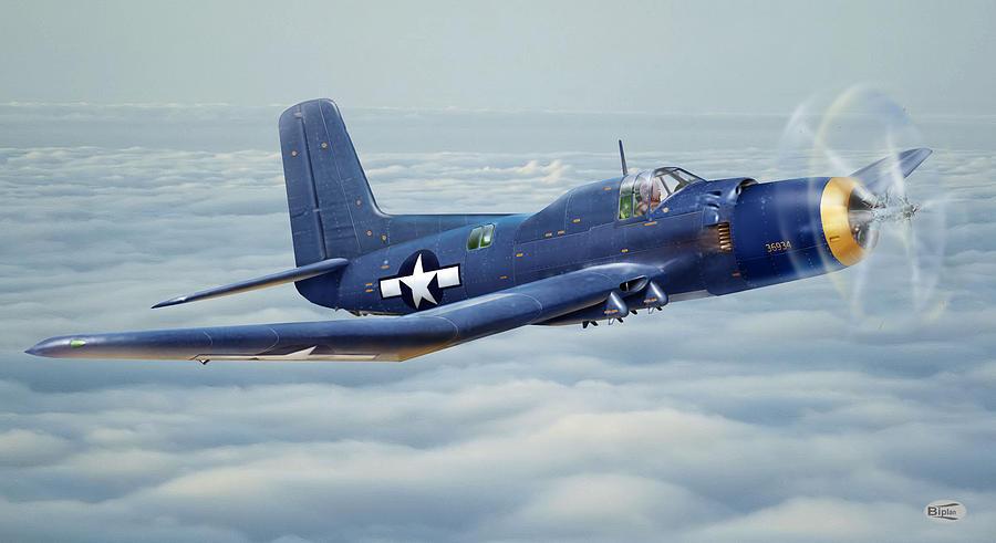 Douglas Skypirate In Flight Digital Art by Alex Arkhipau