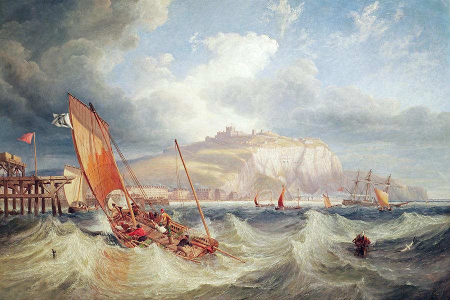 Dover Painting - Dover by John Wilson Carmichael