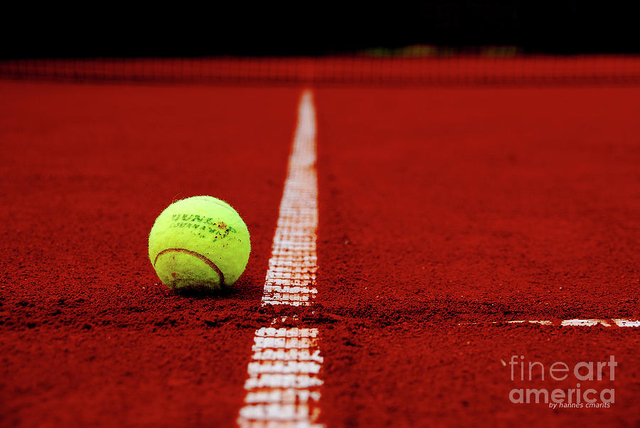 Tennis Photograph - Down And Out by Hannes Cmarits