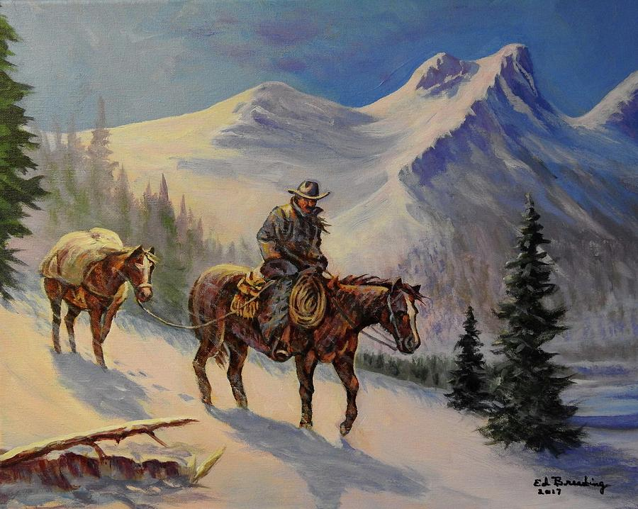 Down from the High Country by Ed Breeding