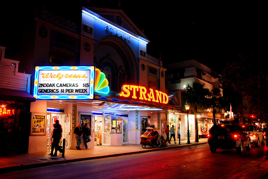 Duval Photograph - Down On Duval In Key West by Susanne Van Hulst