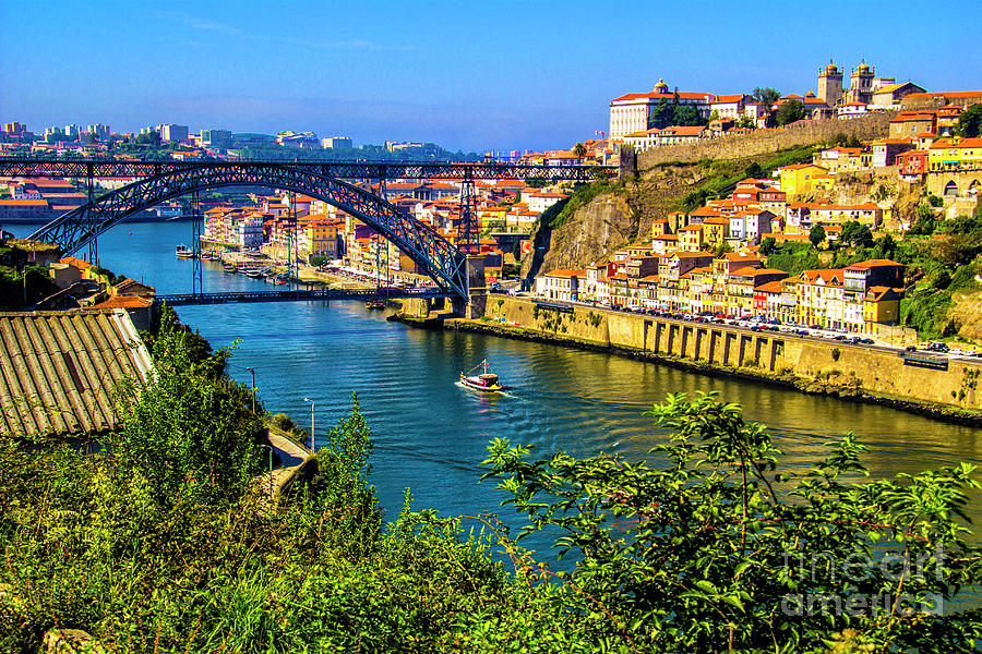 Porto Photograph - Down River by Roberta Bragan