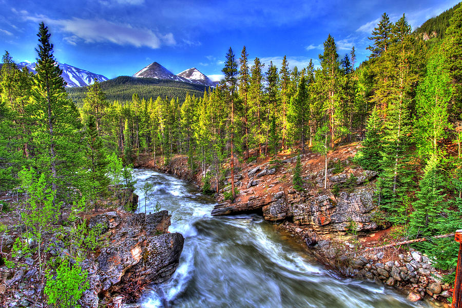 River Photograph - Down The River by Scott Mahon