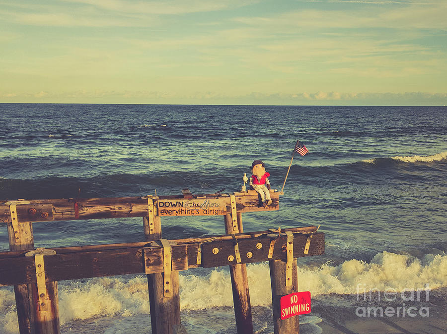 Down The Shore Everything Is Alright Photograph
