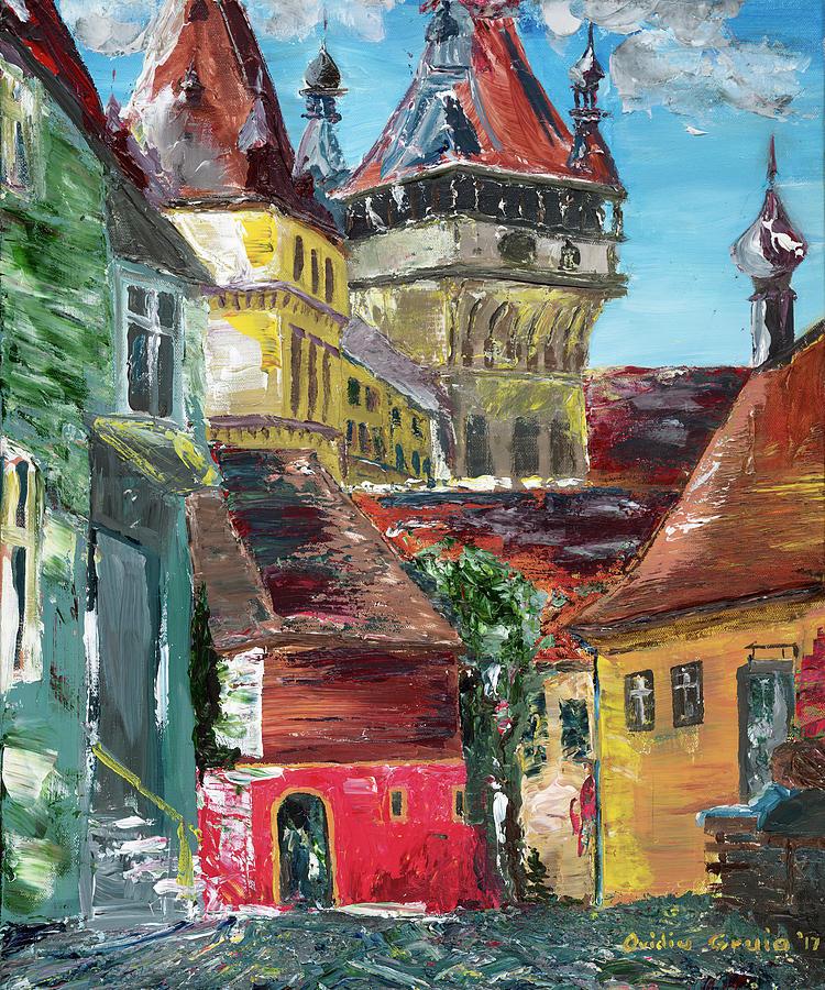 Down the street by Ovidiu Ervin Gruia