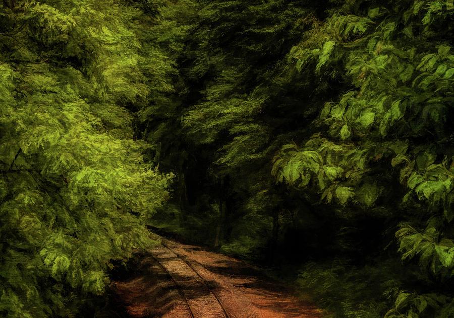 Down The Tracks by John Kimball