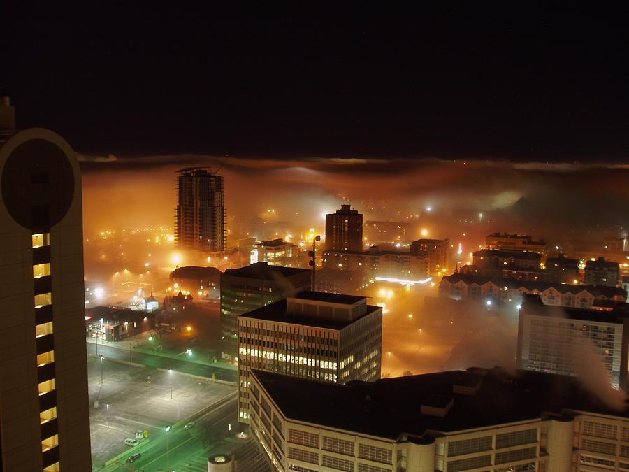 Canada City Photograph - Downdown Calgary  by Seon-Jeong Kim