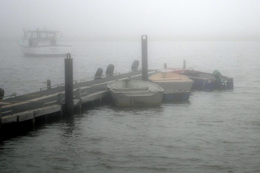 Fog Photograph - Downeast Misty Morning by Steven Scott