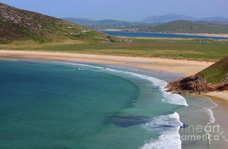 Downings Bay Donegal Ireland by Eddie Barron