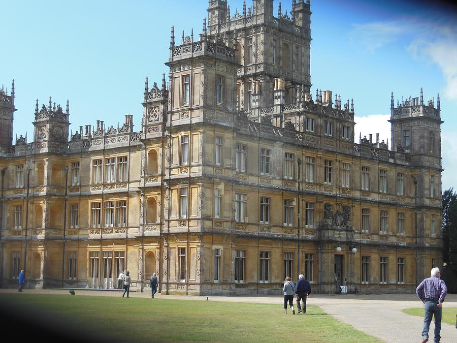 Downton Abbey Photograph by Christine Williams