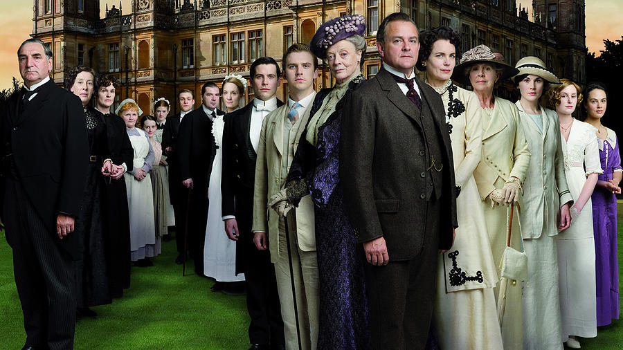 Downton Abbey Digital Art - Downton Abbey by Dorothy Binder