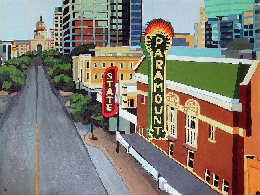 Downtown Austin Painting