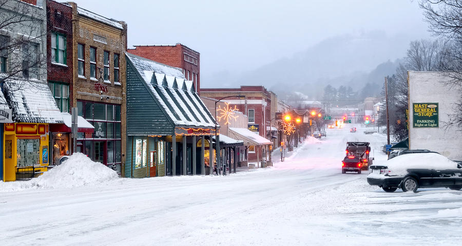Downtown Boone by Tommy White