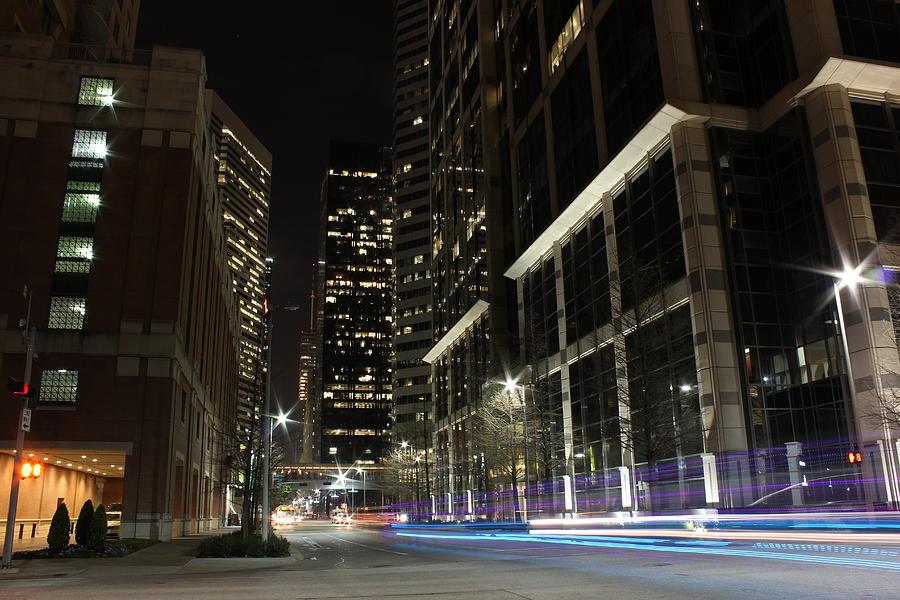 City Photograph - Downtown Houston by Phillip Rangel