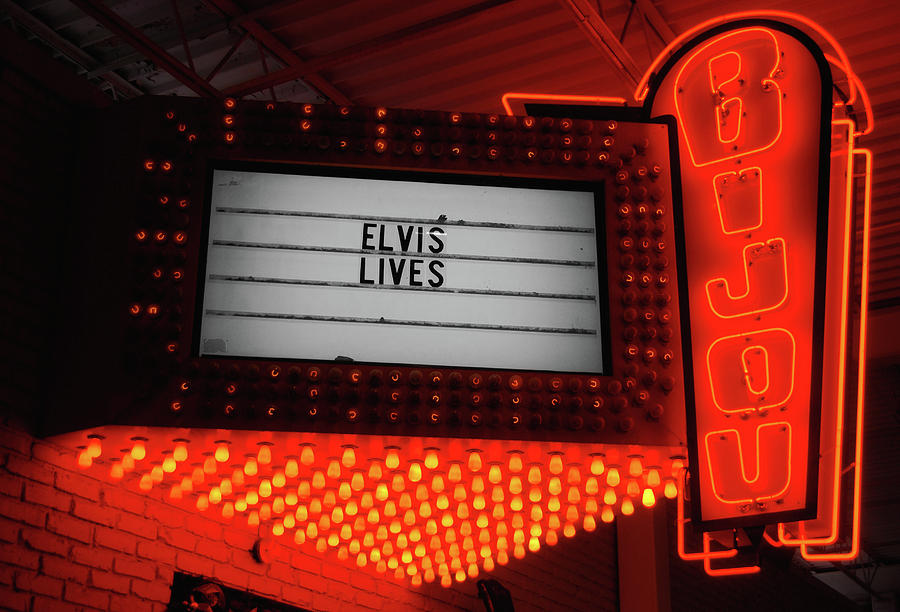 Elvis Photograph - Downtown Knoxville by JAMART Photography