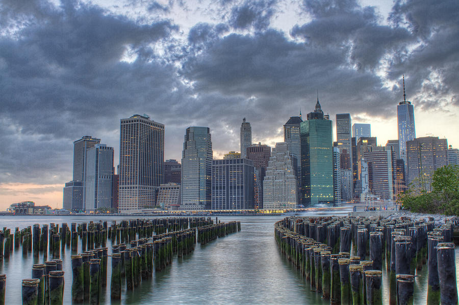 Manhattan Photograph - Downtown Manhattan by Zev Steinhardt